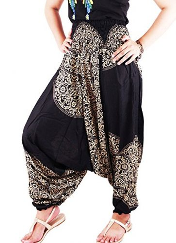 AuthenticAsia - Collecte de Laithai 2 in 1 Harem Pantalon & Jumpsuit