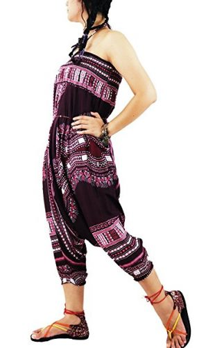 AuthenticAsia- DAE dashiki Collection- 2 en 1 Sarouel et Jumpsuit